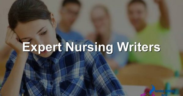 Expert Nursing Writers