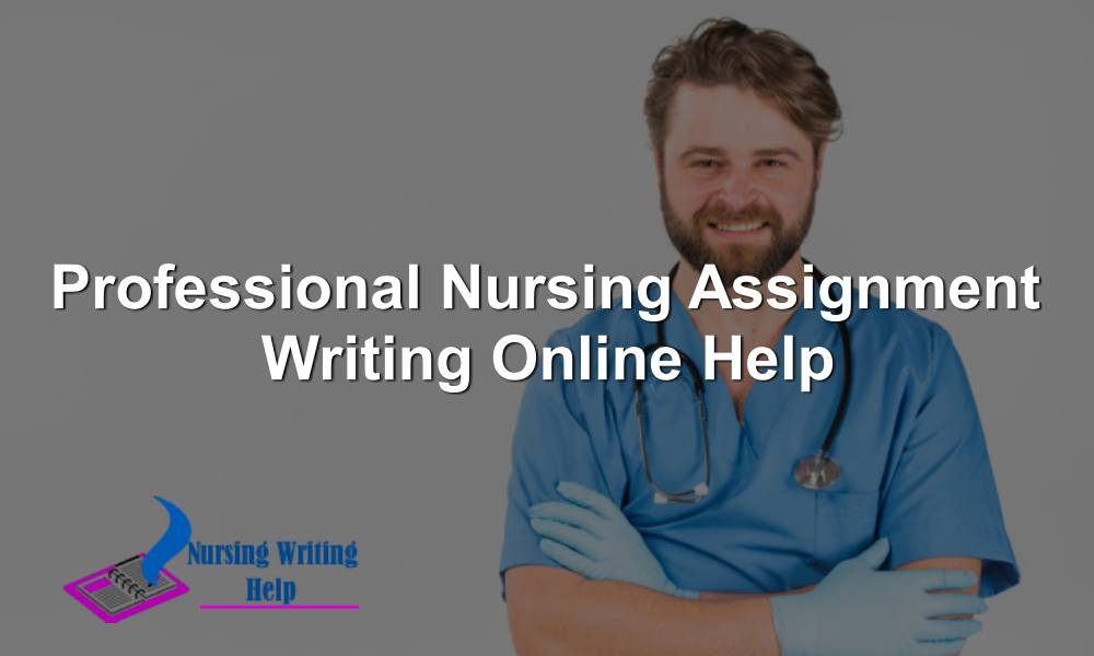 Professional Nursing Assignment Writing Online Help