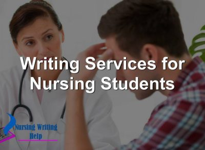 Writing Services for Nursing Students